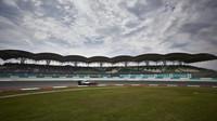 Nico Rosberg v kvalifikaci v Malajsii