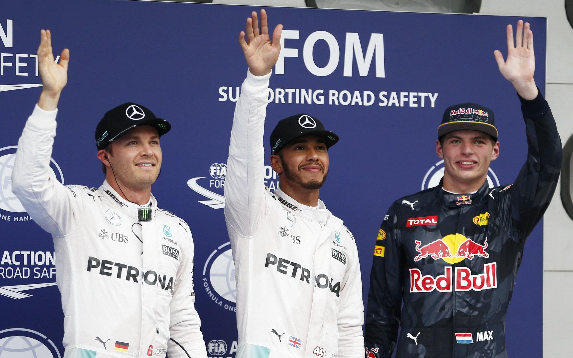 FOTO: Sobota v Malajsii: Mercedes kráčí za titulem, Red Bull se dostává před Ferrari - anotační foto