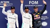 Tři nejlepsí jezdci po kvalifikaci v Malajsii