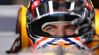Max Verstappen v kvalifikaci v Malajsii