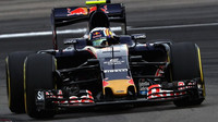 Carlos Sainz v kvalifikaci v Malajsii