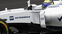 Felipe Massa v kvalifikaci v Malajsii