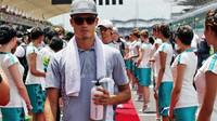Pascal Wehrlein před závodem v Malajsii