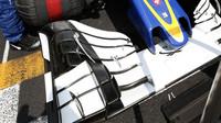 Přední křídlo vozu Sauber C35 - Ferrari v Malajsii