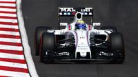 Felipe Massa v závodě v Malajsii