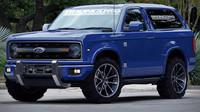Ford Bronco se brzy vrátí! V hledáčku má Jeep Wrangler