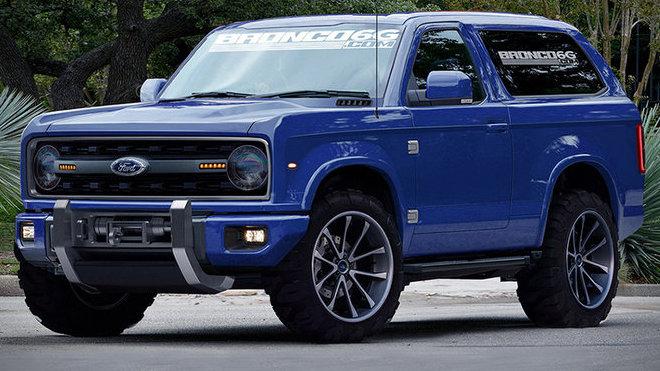 Ford Bronco se brzy vrátí! V hledáčku má Jeep Wrangler - anotačné foto
