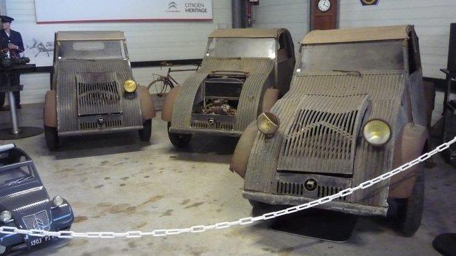 Citroën 2CV v původním stavu