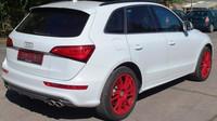 Ministerstvo vnitra prodává v aukci zabavená auta kvůli trestné činnosti, zde Audi SQ5.