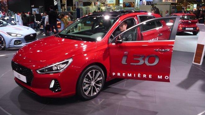 Hyundai i30 se poprvé představil na uplynulém pařížském autosalonu.
