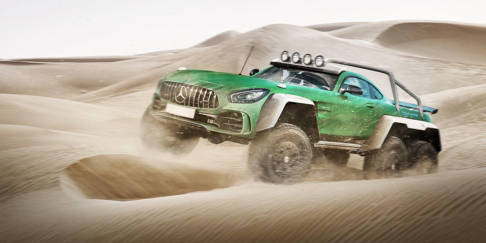 FOTO: Automobilový Frankenstein v akci! Zkřížit tyto modely by vás nikdy nenapadlo - anotační foto