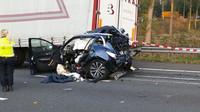 Zničený a slisovaný Renault Kadjar