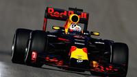 Daniel Ricciardo při pátečním tréninku v Austinu