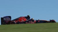Carlos Sainz při pátečním tréninku v Austinu
