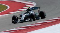 Nico Rosberg v kvalifikaci v Austinu