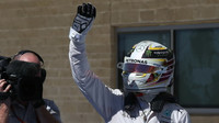 Lewis Hamilton po kvalifikaci v Austinu