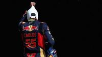 Carlos Sainz po kvalifikaci v Austinu