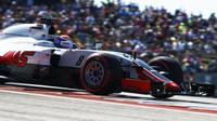 Romain Grosjean v kvalifikaci v Austinu