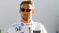 Jenson Button po kvalifikaci v Austinu