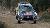 Rally Wales GB: Tänak s Ogierem se přetahují o čelo soutěže - anotační foto