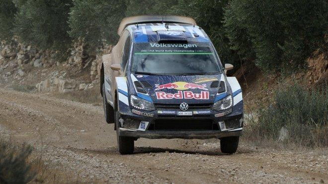 Seb Ogier se svým posledním Polem R WRC