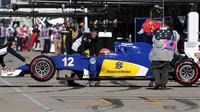 Felipe Nasr v kvalifikaci v Austinu