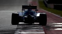 Felipe Massa v kvalifikaci v Austinu
