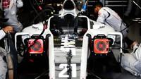 Přípravy týmu Haas na závod v Austinu