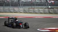 Jenson Button v závodě v Austinu