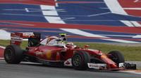 Kimi Räikkönenv závodě v Austinu