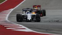 Felipe Massa s Williamsem ve Velké ceně Spojených států