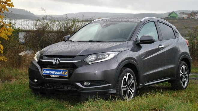 TEST: Honda HR-V 1.5 i-VTEC CVT - Do města a dál ne? - anotačné foto