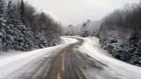 Sních na silnicích překvapil v dubnu mnohé řidiče