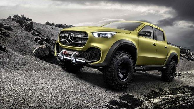 Mercedes-Benz třídy X Powerful Adventurer