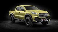 Mercedes-Benz třídy X se představuje též v provedení Powerful Adventurer.