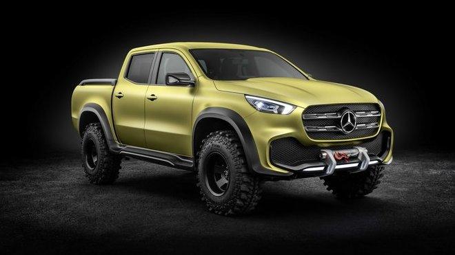 Pickup od Mercedesu je realitou. Třída X však dělnický původ dobře maskuje - anotační foto