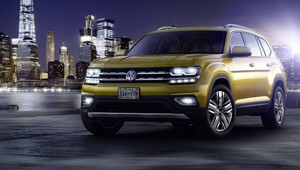 Velikost Audi Q7 za cenu Kodiaqu. Volkswagen představuje nové SUV Atlas pro USA - anotační obrázek