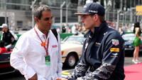 Max Verstappen a Juan Pablo Montoya jsou co do závodního stylu často srovnáváni