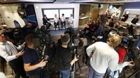 Tisková konference Williamsu s oznámení jezdecké sestavy pro rok 2017