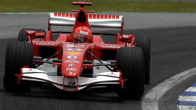 Michael Schumacher v Brazílii 2006