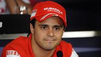 Felipe Massa v roce 2008, kdy závodil za Ferrari