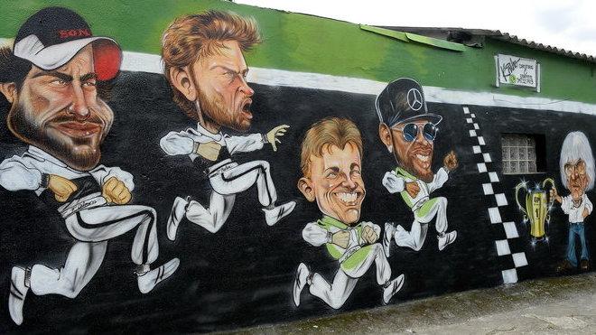 Stěna slávy v Brazílii