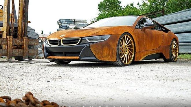 Zrezivělé BMW i8 může být realitou