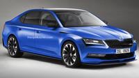 Škoda Superb RS má k sériové výrobě překvapivě blízko.