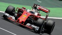 Sebastian Vettel s Ferrari
