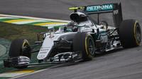 Nico Rosberg v kvalifikaci v Brazílii