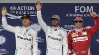 Tři nejlepší jezdi po kvalifikaci v Brazílii