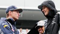 Max Verstappen a Nico Hülkenberg před závodem v Brazílii