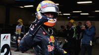 Max Verstappen po závodě v Brazílii