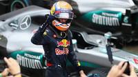 Max Verstappen po deštivém závodu v Brazílii